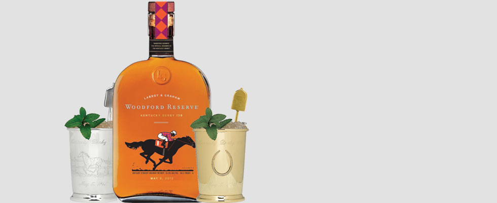 Woodford Reserve Unveils $1,000 Mint Julep Cup for 2012