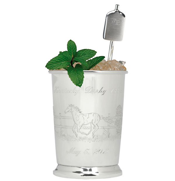 Woodford Reserve $1,000 Mint Julep Traditional Cup for 2012 Kentucky Derby