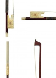 Gold and Ivory Mounted Violin Bow from 1849, created by Jean Baptiste Vuillaume in Paris