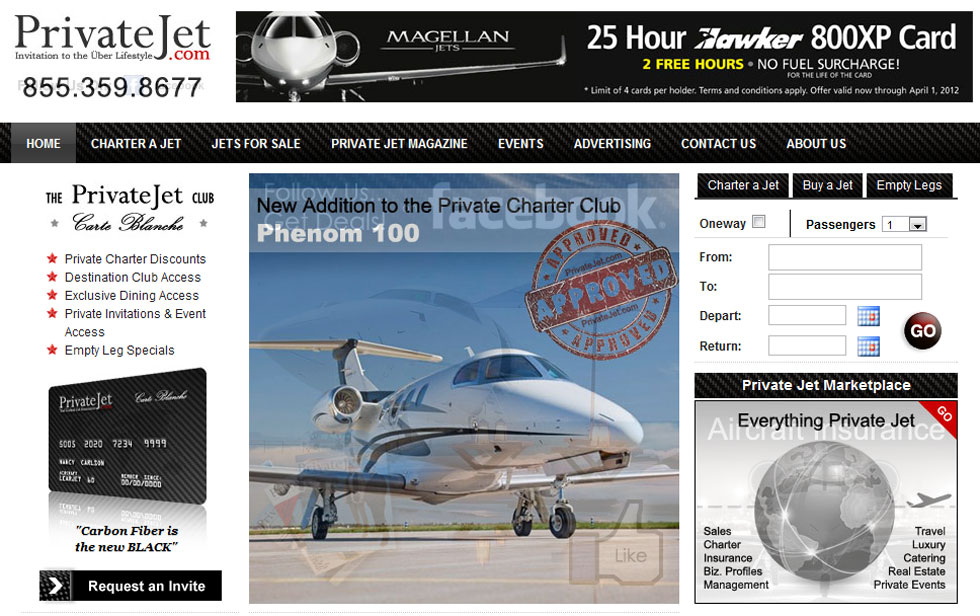 PrivateJet.com Sold For $30,18 Million &#8211; Most Expensive Pure Domain Sale