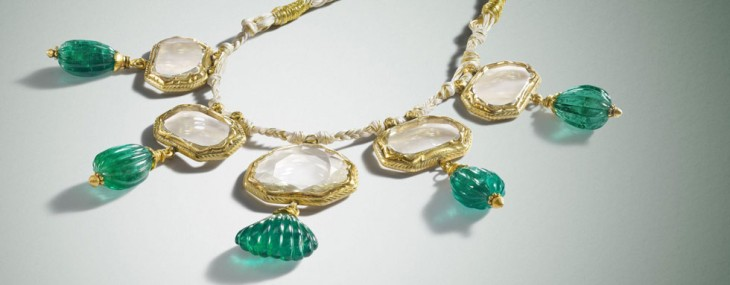 Mughal Mirror Diamond Necklace Worth $20 Million for Private Sale at Bonhams
