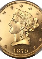 1879 Eagle, PR65 Cameo NGC