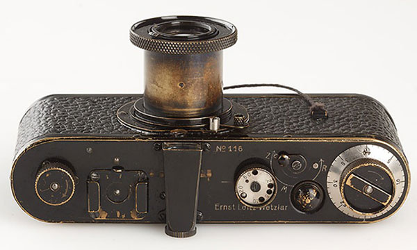 Leica 0-Serie camera with serial number 116 sold for €2,16 million ($2.8 million)