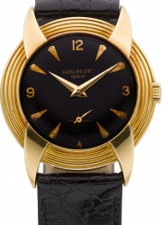 1954 Patek Philippe Ref. 2549 Devil&#039;s Horns Gold Wristwatch