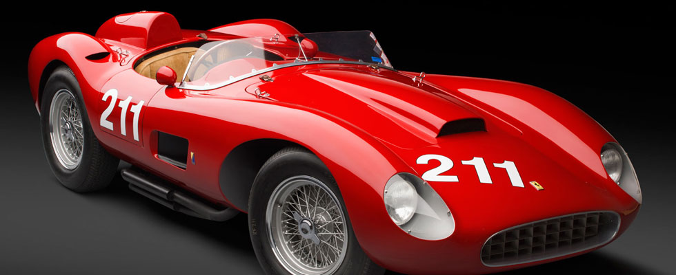 1957 Ferrari 625 TRC Spider Sells for $6.4 Million at Auction