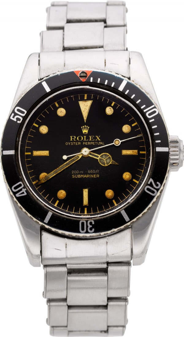 1958 Rolex Oyster Perpetual Submariner - James Bond Big Crown Wristwatch