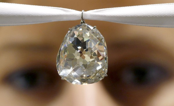 35 Carat Beau Sancy Diamond