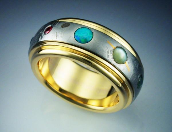 Gibeon Meteorite Ring