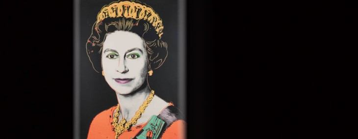 Andy Warhol's 1985 portrait of Queen Elizabeth II