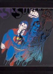 Andy Warhol's Superman (from Myths)