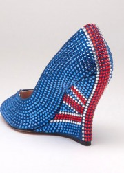 Aruna Seth's Union Jack Shoes