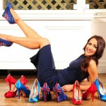 Aruna Seth's Union Jack Shoes in Honor of Queen's Diamond Jubilee