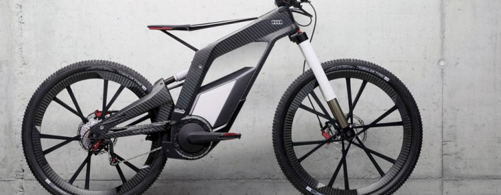 Audi e-bike Wörthersee - high-end performance bicycle