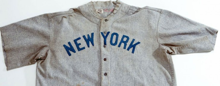 $4.4 Million Babe Ruth Jersey Set a Record at Auction