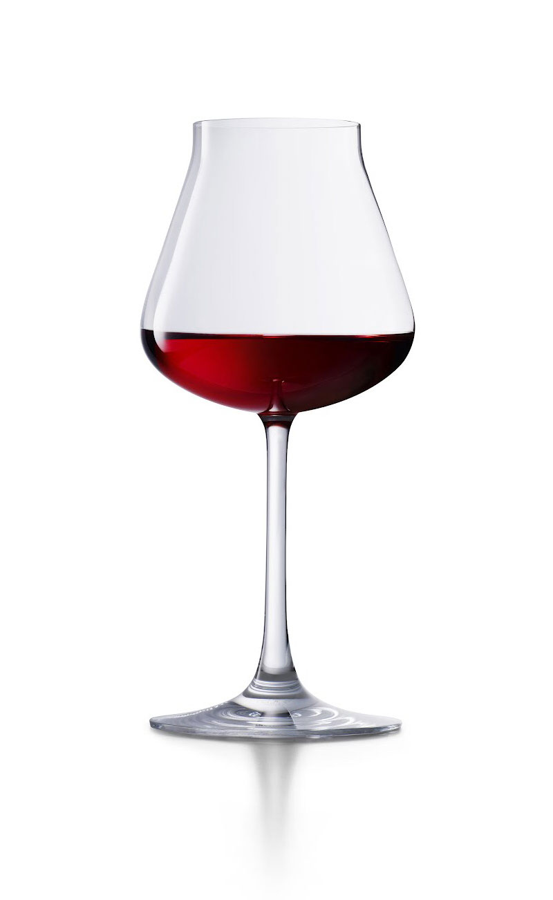 Baccarat new tulip shaped wine glass protects the delicate - Beaker wine glasses ...