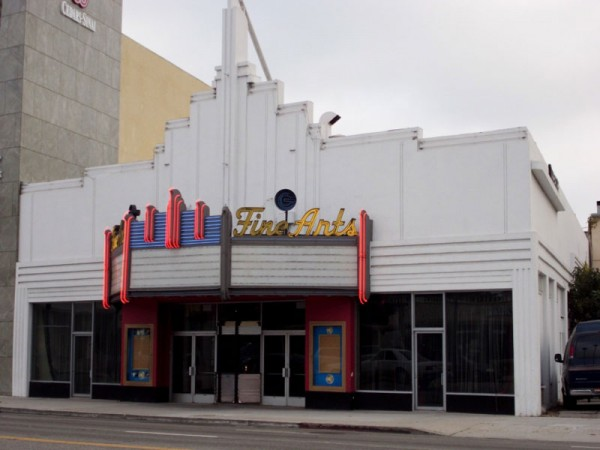 Beverly Hills' Fine Arts Theater