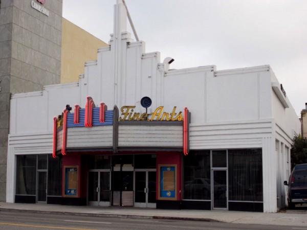 Beverly Hills' Fine Arts Theater
