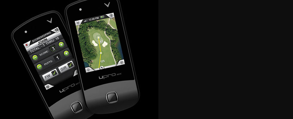 Callaway uPro MX+ Golf GPS Device for Easier Path to the Hole