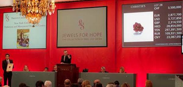 Christies Jewels for Hope