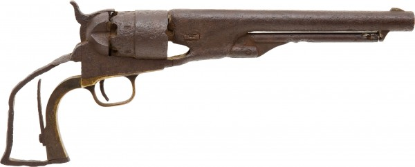 Colt Revolver Found at the Little Bighorn Battle Site in 1935