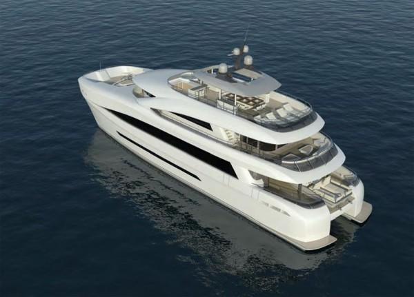 Catamaran and Superyacht in One - Curvelle Quaranta