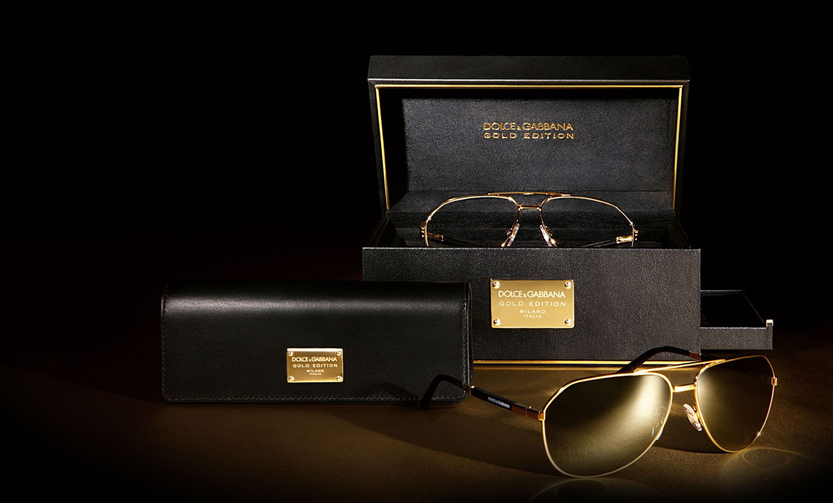 Dolce & Gabbana Gold Edition Eyewear Ready To Brighten Up ...