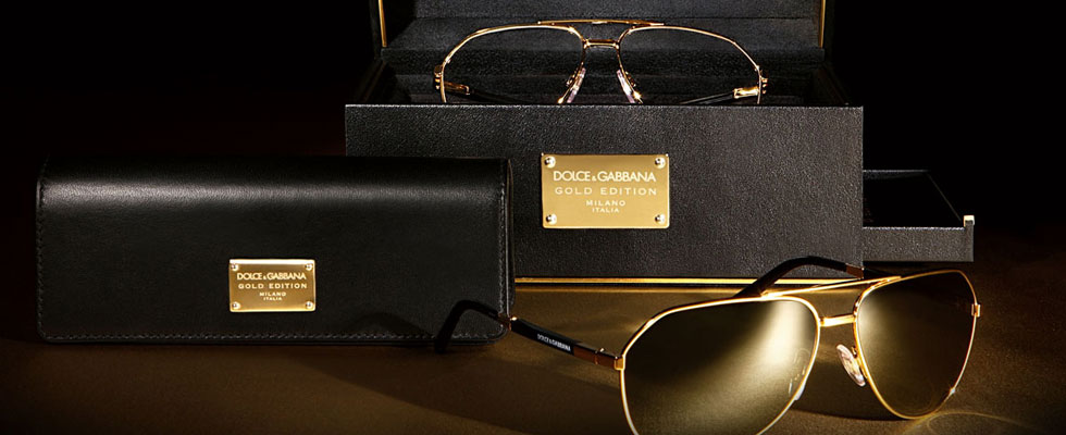 Gold Edition Eyewear by Dolce & Gabbana