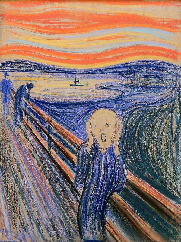 Edvard Munch's The Scream Artwork