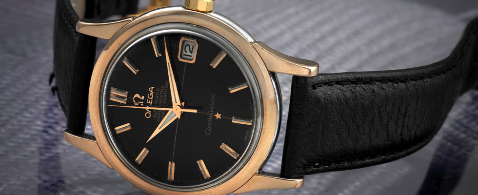 Elvis Prisley's Omega Black Dial Constellation Calendar