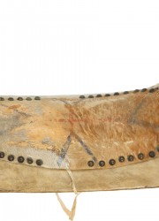Fine Plains Indians Saddle, with Accompanying Research Attributing It to the Cheyenne War Chief Two Moons, a Major Figure at Little Bighorn, and One of Fraser's Three Models for the Buffalo Nickel