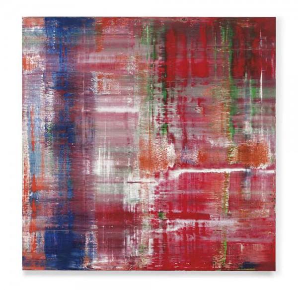 Gerhard Richter's Abstraktes Bild