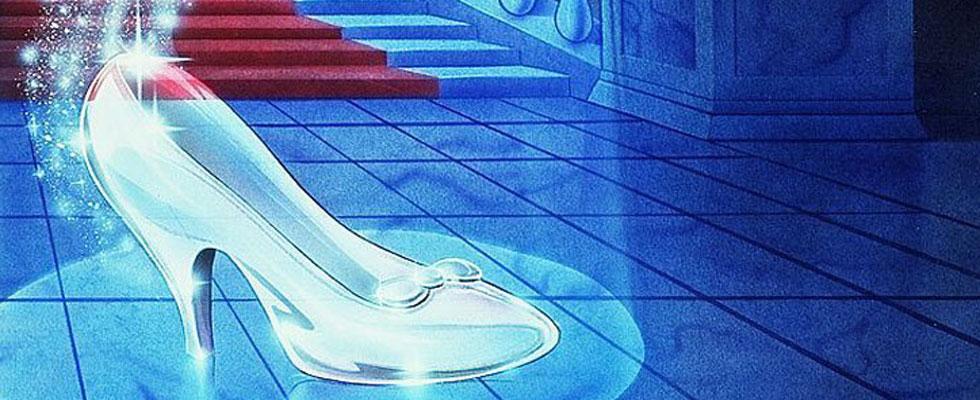 Cinderella&#8217;s Glass Slippers by Christian Louboutin