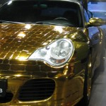 Buy a Gold Scaly Porsche 996 Turbo Cabriolet for $61,000