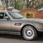 James Bond's Aston Martin V8 Vantage Saloon at Bonhams Aston Martin Sale