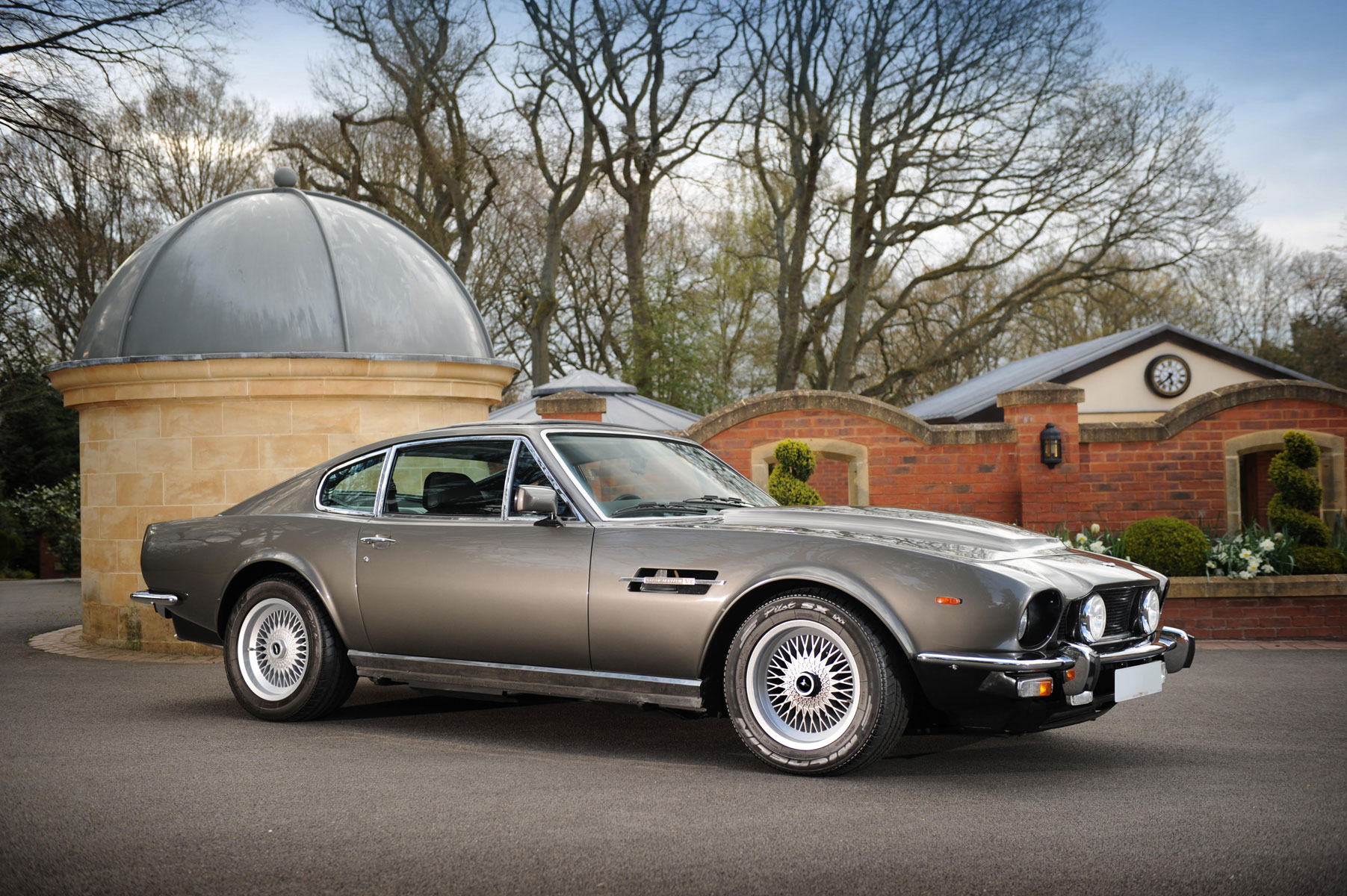 James Bonds Aston Martin V Vantage Saloon At Bonhams Aston Martin - Aston martin v8 for sale