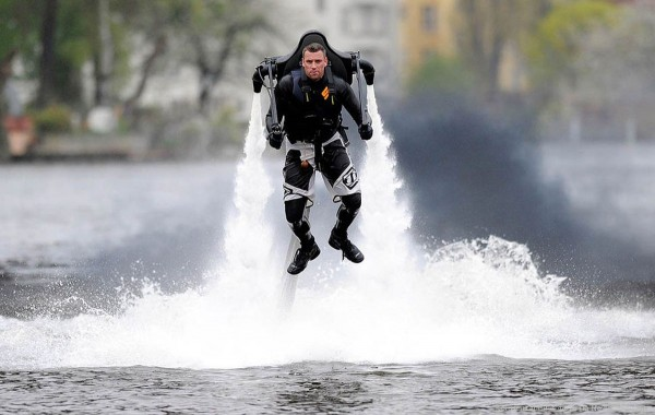JetLev - Flyer - Water-Propelled Jet Pack