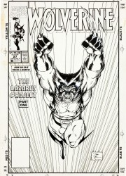 Jim Lee - Wolverine #27