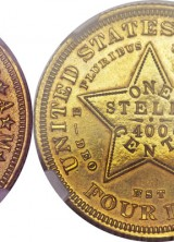 High-grade 1879 $4 Stellas Lead Rarities Offered At Heritage Auctions Long Beach