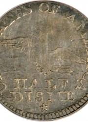 Judd-7 1792 Half Disme, VF25 PCGS