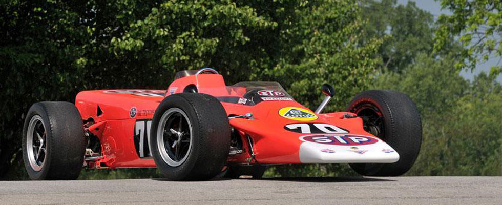 Historic Lotus Type 56 Turbine Indy Racecar to be Auctioned by Mecum at Monterey