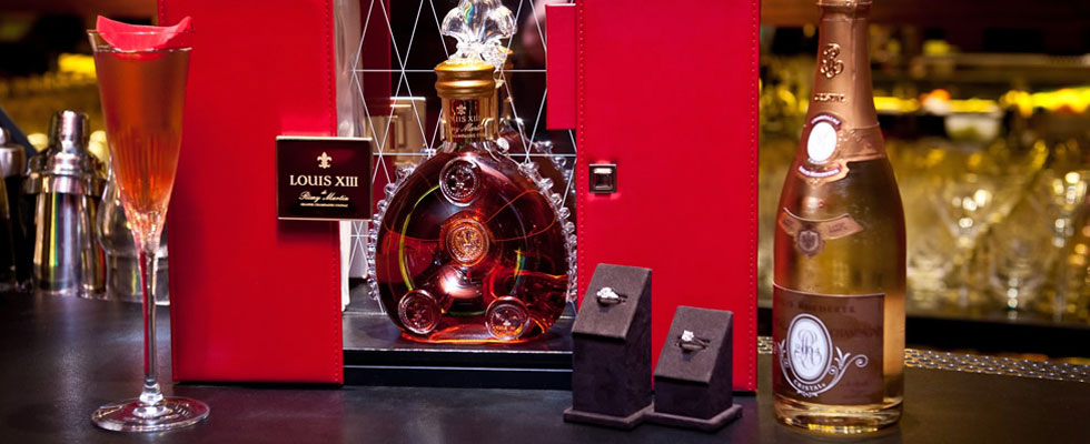 $15,500 Louis XIII Diamond Jubilee Cocktail at the Four Season's Hotel London