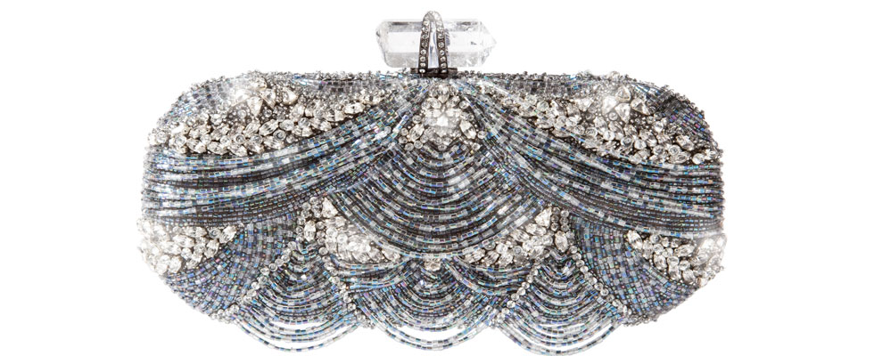 Glittering Marchesa Clutches Adorned with Swarovski Crystals &#8211; Limited Edition