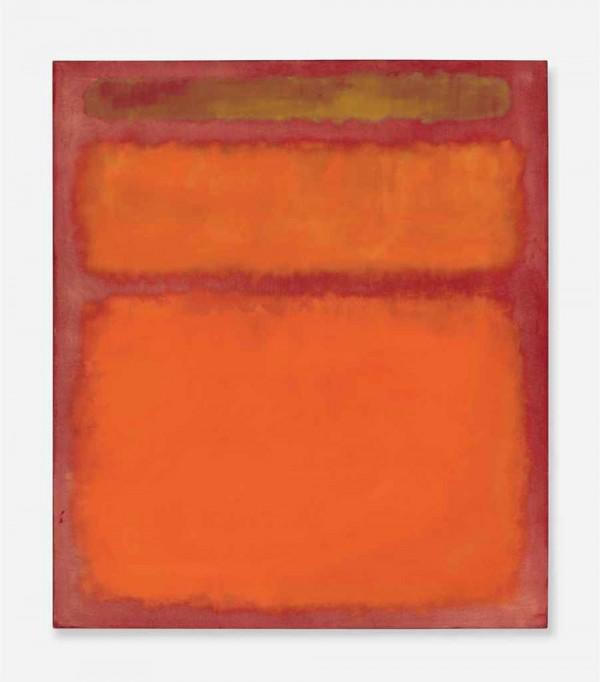Mark Rothko's Orange, Red, Yellow Painting