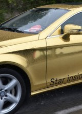 Mercedes Golden Fleet Shed Light on Cannes Film Festival 2012