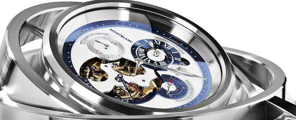 Montblanc Horloge de Marine Nautical Regulator – Yacht Owner's Dream