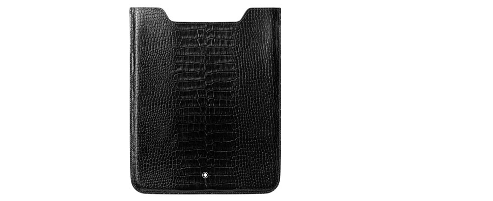 Montblanc Meisterstck Selection Leather iPad Case 2012