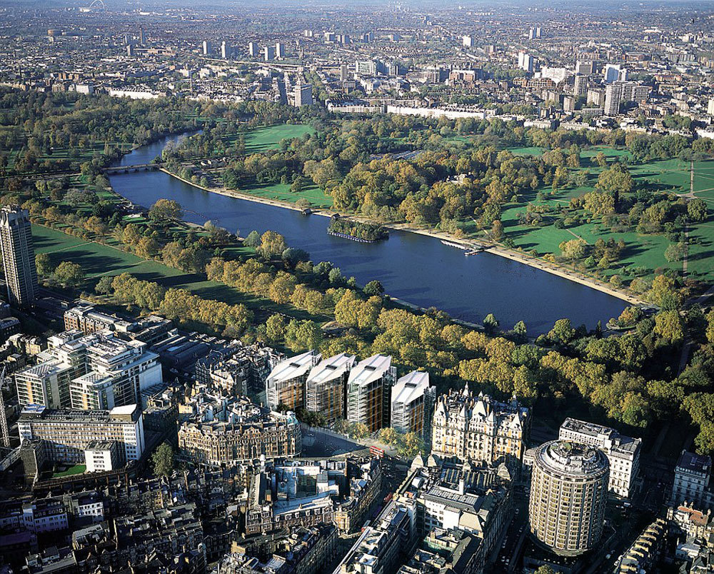 Exclusive Apartment At London S Hyde Park On Sale For 163 65
