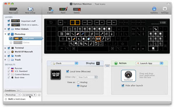 Art Lebedev's New Optimus Keyboards with LCD Display