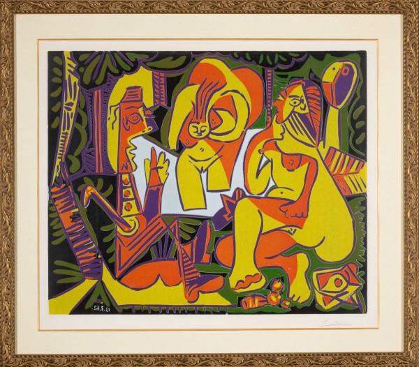 Pablo Picasso's Déjeuner sur l'herbe