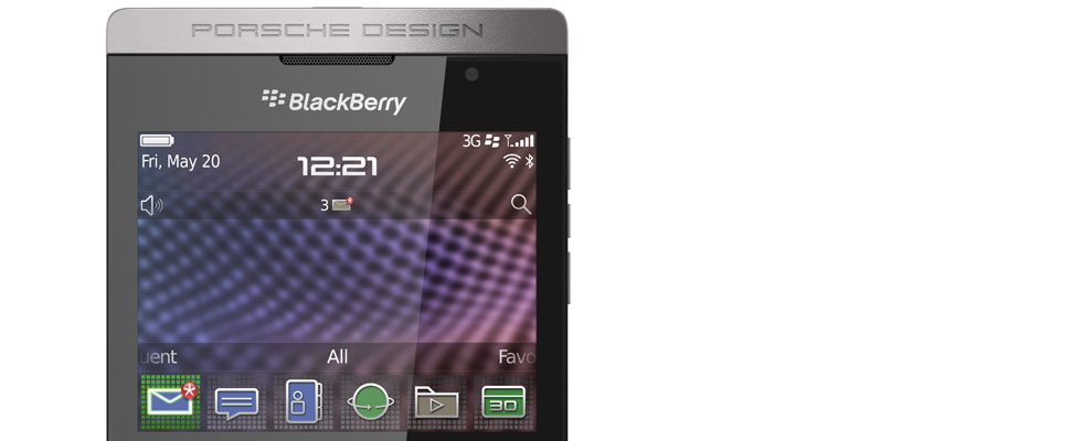Porsche Design and BlackBerry honoured at Plus X Award 2012